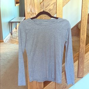 Sonoma Everyday Tee Gray long sleeve size Small